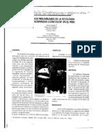 Distribucion de Xenospingus 1996