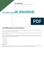 Les différentes cartes Arduino – Domotics.pdf