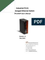 User Manual IPS-2042P