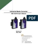 User Manual IMC-1021FX