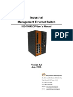 User Manual Igs-7084gcp v1.2