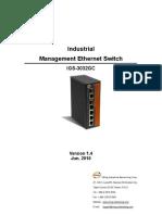 User Manual IGS-3032GC V1.4