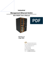 User Manual IES-3162GC