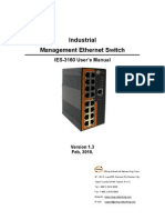 User Manual IES-3160 V1.3