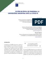 ARTICULO COVID UNIVERSIDAD
