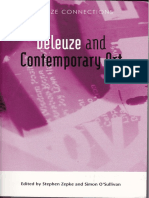 deleuze and contemporay art
