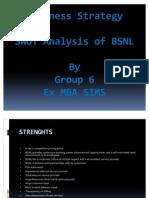 BSNL swot