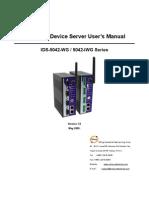 User Manual_ids-5042-Wg & Iwg