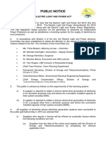 ELPA - Public Notice