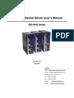 User Manual IDS-5042 Series