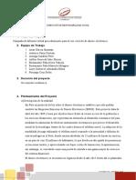 ESQUEMA DEL PROYECTO DE INTERVENCION SOCIAL ANTHONY ERNESTO PALOMINO COTIPA