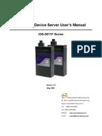 User Manual IDS-5011F