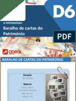 Baralho de cartas sobre o Património_Portugal e Mundo