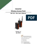User Manual IAP-120 Serial V1.0