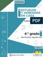 ESTUDIAR Y APRENDER EN CASA 4°