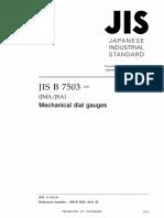 JIS B 7503-2011