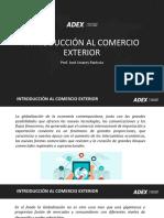 Introducción y Operativa de Comercio 2020-1