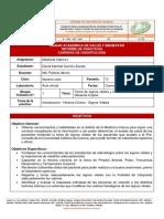 Informe de práctica 1 - Signos vitales y llenado de ficha clínica
