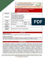 Informe de práctica 3 - Medidas en Epidemiología