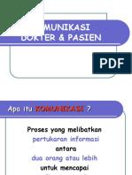 PU 1.1 - Komunikasi dokter pasien