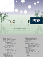 TikZ & PGF Manual for Version 2.10