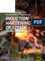 Troubleshooting and Prevention of Cracking in Induction Hardening os Steels - Part 2