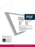 LG Manual TV