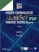 Forum Criminalistic nr. 1/2014