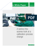 Beamex White Paper - A behind the scenes look at a calibration process change