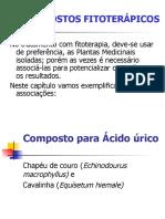 COMPOSTOS FITOTERAPICOS  PP 2