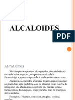 ALCALOIDES aula P  P