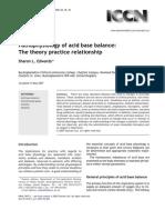 Pa Tho Physiology of Acid Base Balance