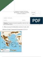 PRUEBA UNIDAD 2 GRECIA