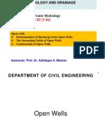 GW 7-Open Wells