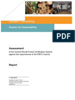 PEFC Assessment Report Slovakia