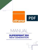 Manual New Superprint 350 Rev 01