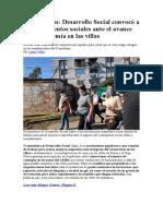 Coronavirus Desarrollo Social convocó a los movimientos sociales