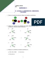 Ejercicios Estereoisomería, Carbohidratos, Aminoácidos, y Proteínas.pdf