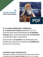 1c. La Justificación - Fuente y Ejemplo
