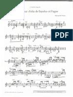 ponce variations and fugue pdf guitar la folia