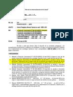 INFORME DEL MES Biblioteca Magisterial 2020