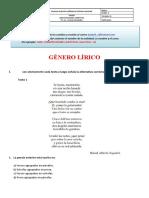 TALLER GENERO LIRICO