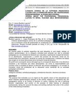 CRITERIOS EPISTEMOLÓGICOS ACERCA DE LA ACTIVIDAD PEDAGÓGICA PROFESIONAL