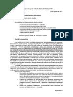 Solicitação GT-Piloto eSocial para Ministro Paulo Guedes