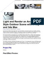 Light and Render an Arch-Vi