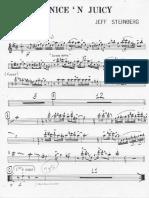 Nice and Juicy - FULL Big Band - Steinberg - Maynard Ferguson