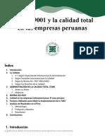 Calidad - ISO 9001 EN PERÚ
