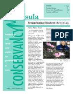 2007 Summer Great Peninsula Conservancy Newsletter