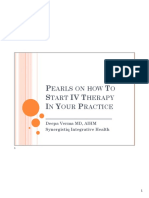 09 Pearls on How To Start IV Therapy