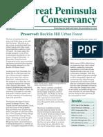 Spring 2009 Great Peninsula Conservancy Newsletter